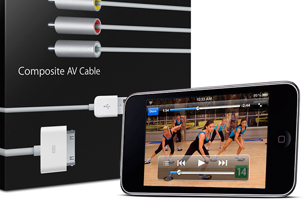 Make sure to get the right cable for your iPod or iPhone